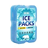 Best Box With Cooler Lunches - IEIK Cool Coolers Slim Long-Lasting Reusable Ice Packs Review