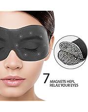 Máscara de ojo máscara de dormir, terapia magnética sueño Eye cubre dormir venda por paitree, Super Soft 3d contorneada Ojo espacio–professionally-made noche máscara Antifaz para mujer & hombre