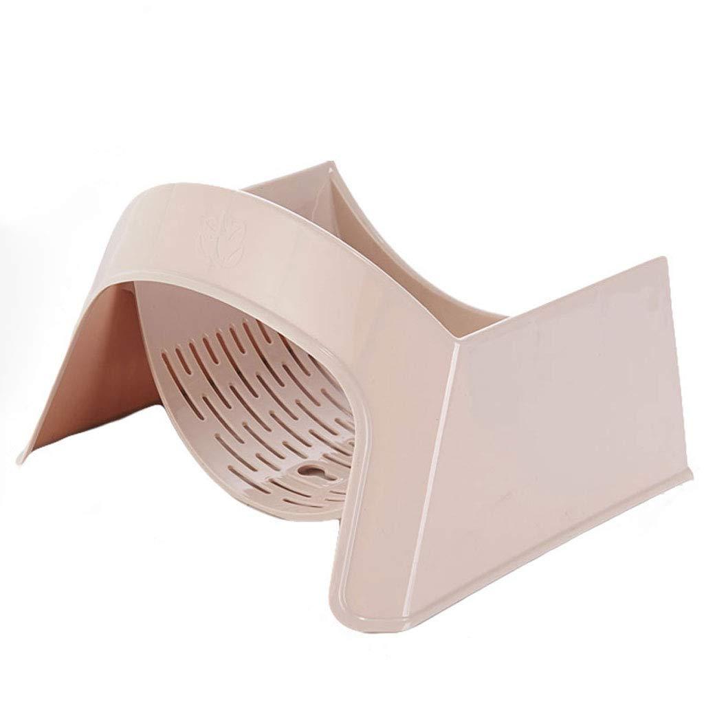 HY Bathroom Basin Shelf Suction Cup Tub Holder Kitchen Storage Rack Bathroom Shelf (Color : Bronze)