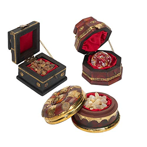 Antique Biltmore Collection - Three Kings Gifts The Original Gifts of Christmas Gold, Frankincense and Myrrh Standard Box, Set of 3