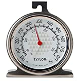 Taylor 3506 RA14257 Oven Dial Thermometer, 1, Stainless Steel/Black
