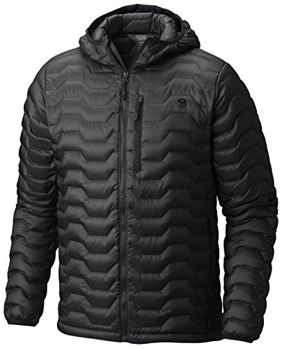 Mountain Hardwear Nitrous Hooded Down Jacket - Men's Black Medium