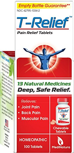 T-Relief Arthritis Pain Relief,  100 Tablets