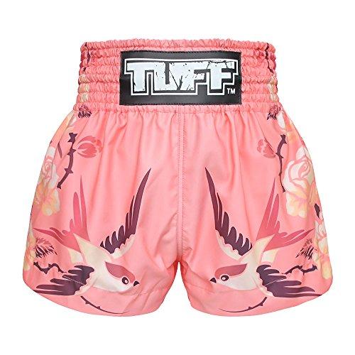 Tuff Muay Thai Shorts TUF-MS618-PNK-XXL