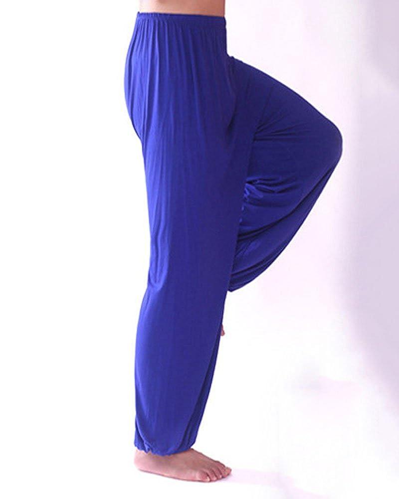 Pantalones De Yoga Suelto Y Cómodo Hombre Lounge Danza Fitness Pijama Pantalón: Amazon.es: Ropa y accesorios