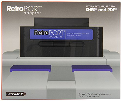 Retro-Bit RetroPort NES to SNES Cartridge Adapter - Super NES