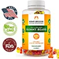 Premium Hemp Gummies - Safe and Natural - Made in USA- Relaxing, Pain, Stress & Anxiety Relief - Special Blend - Full Spectrum Organic Hemp Extract - Rich in Vitamins B, E, and Omega 3, 6, 9 & More