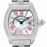 Cartier Roadster swiss-quartz womens Watch W6206006 (Certified Pre-owned)