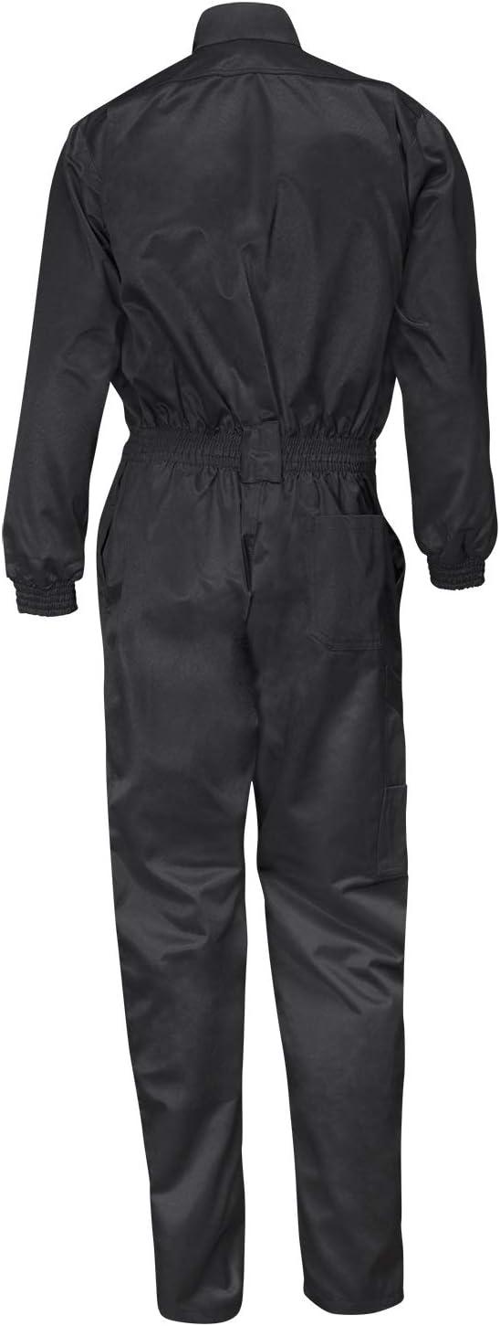 Nero 46 Abbigliamento Kiel easyClean Tuta da Lavoro 270GR Lavoro Generale con Rinforzo del Ginocchio strongAnt/®
