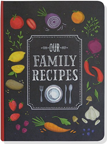 Our Family Recipes Journal by Peter Pauper Press