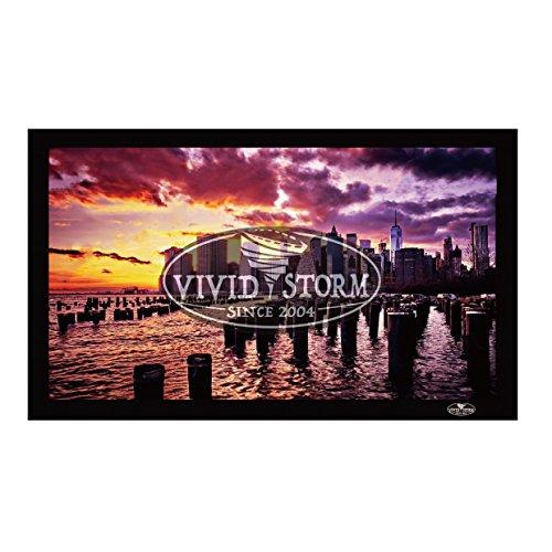 VIVIDSTORM Fixed Frame Screen,120-inch Diagonal 16:9, 8K 4