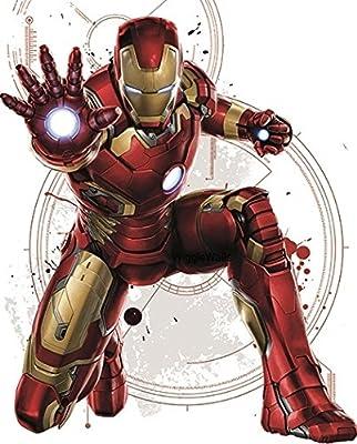 Amazon.com: Traje de Iron Man Marvel Avengers Tony Stark ...