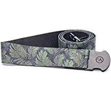 Arcade Belt Co. Men's The Deep Cover Belt, Green, One Size