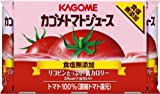 Kagome tomato juice salt with no additives (160gX6 cans) X5 pack