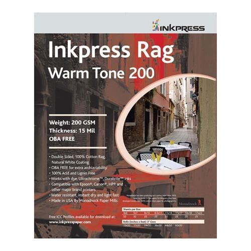 (Inkpress Picture Rag Warm Tone Paper-200 gsm 8