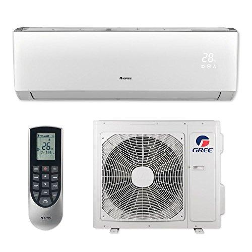 Gree VIR12HP230V1B - 12,000 BTU 22 SEER VIREO+ Wall Mount Ductless Mini Split Air Conditioner Heat Pump 208-230V