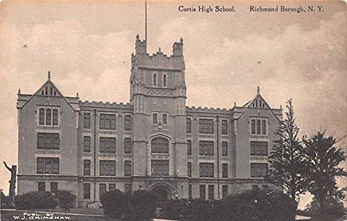Curtis High School Richmond Borough, New York postcard