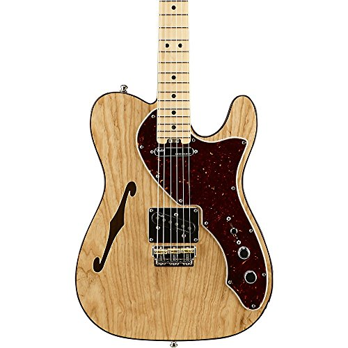 Deluxe Telecaster Ash American Fender - Fender American Elite Telecaster Thinline Maple Fingerboard Electric Guitar Level 2 Natural 190839112040