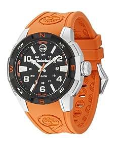 Timberland 13849JSTB-02 TBL.13849JSTB/02 - Reloj para hombres, correa de silicona color naranja