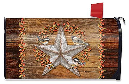 Harvest Mailbox - Briarwood Lane Harvest Barnstar Welcome Magnetic Mailbox Cover Fall Primitive Standard
