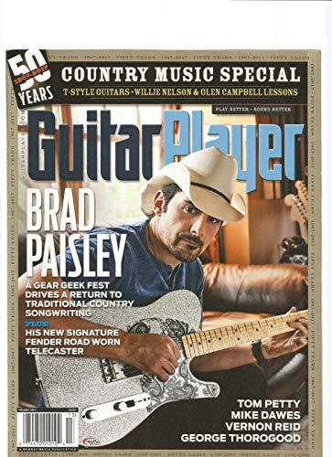 GUITAR PLAYER MAGAZINE HOLIDAY 2017 BRAD PAISLEY