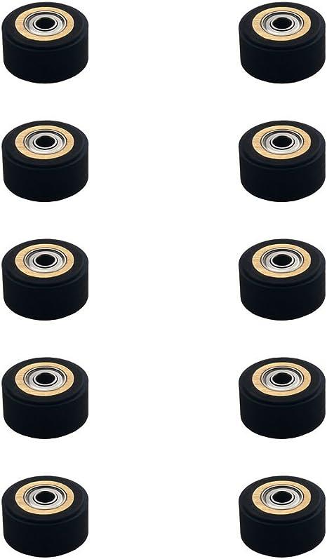10 piezas Pinch Roller para plotter de corte de vinilo Roland Schneider (4mmx10mmx18mm): Amazon.es: Electrónica