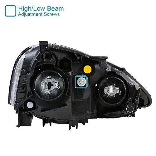 Spec-D Tuning 2LH-RSX02G-RS Smoke Headlight 02-04 Acura Rsx
