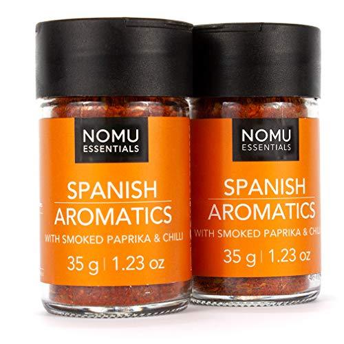 NOMU Essentials Spanish Seasoning Blend (2.46 oz | 2-pack) | MSG & Gluten Free, Non-GMO, Non-Irradiated