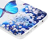 For Galaxy S7 Edge Case, Hybrid Transparent Clear