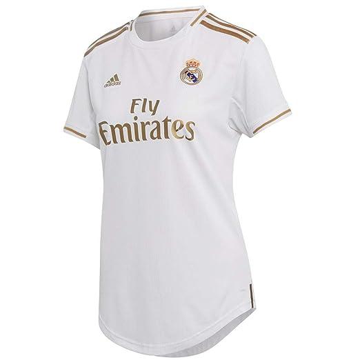 632eacafa1dfe Amazon.com: adidas Women's Real Madrid Home Jersey 2019-2020: Clothing