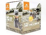 Ozark Trail 10-Piece Easy Storing Camp Cook Set