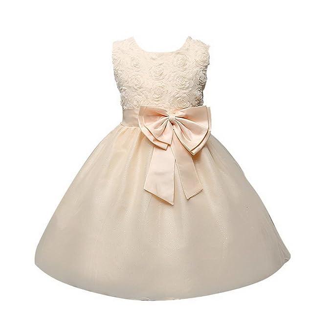 7f3237b71234 ARAUS Abiti da Sera Bambina Elegante Vestiti Principessa per Feste 0-10  Anni  Amazon.it  Abbigliamento