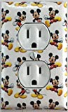 Mickey Mouse Decorative Outlet Wall Plate Cover