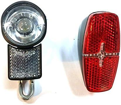 E Bike LED Lamp 6V Headlight Taillight BAFANG Mid Drive Motor Front Rear Light