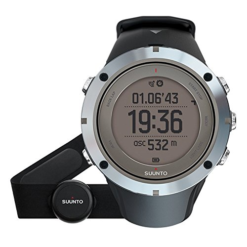 - SUUNTO Ambit3 Peak HR Monitor Running GPS Unit, Sapphire