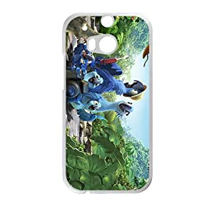 Cartoon anime Angry Birds Rio Phone case for Htc one M8