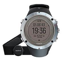 Suunto Men's Ambit 3 Sapphire Heart rate- Black Rubber Quartz Watch