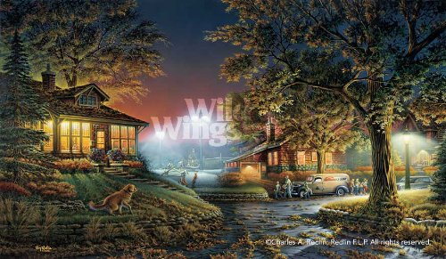Wild Wings Highlight of The Neighborhood Limited Edition Print by Terry Redlin