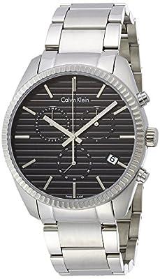 Calvin Klein K5R37141 Mens Alliance Silver Chrono Watch