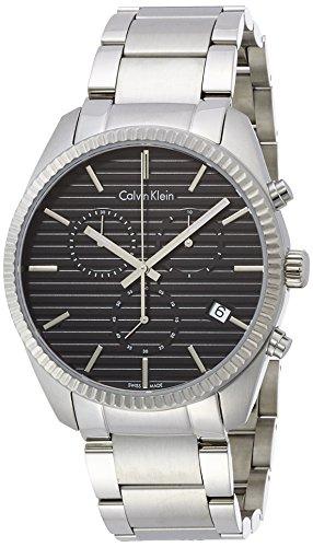 Alliance Chrono Mens Watch - Calvin Klein K5R37141 Mens Alliance Silver Chrono Watch