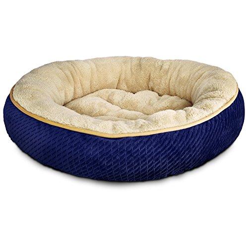 petco-textured-round-cat-bed-in-blue-20-diameter