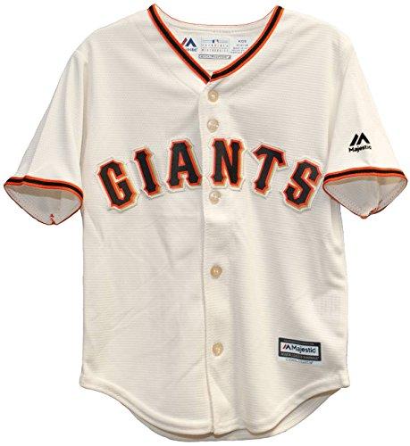 Majestic MLB San Francisco Giants Ivory Off White Baseball Jersey – DiZiSports Store