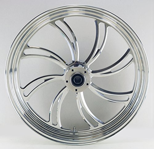 37-562 Ultima King Spoke Aluminum Front Wheel 21 x 2.15 Single Disc 2000 /& later Rotor