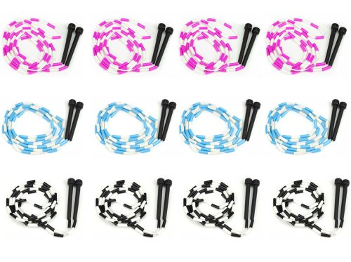 K-Roo Sports Lot of 12 7-foot Jump Ropes with Plastic