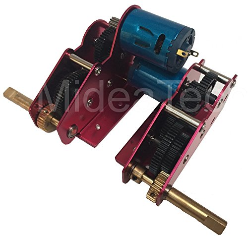 Heng Long Ultimate Edition II Metal Steel Gearbox For 1/16 RC Tank H+L 59cm Long Axis