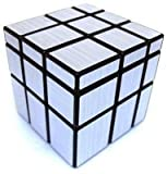 3x3 Silver Mirror Cube Puzzle Fast And Smooth Cube Durable Cube