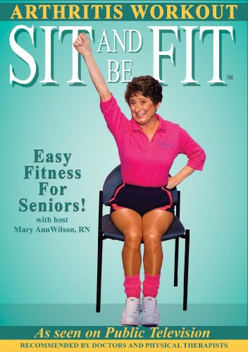 Sit and Be Fit Arthritis Award-Winning Chair Exercise Workout For Seniors-Stretching, Aerobics, Strength Training, and Balance. Improve flexibility, muscle and bone strength, circulation, heart health, and stability (Chair Yoga For Seniors Dvd)