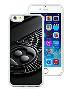 Hot Sell Design Bentley logo 4 Unique Custom White Case For iPhone 6,iPhone 6s 4.7 Inch TPU Case
