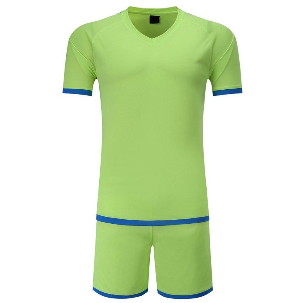 5cf29a5ea16f9c KINDOYO Maglietta da Calcio per Uomo e Bambino, Tuta Sportiva,  Abbigliamento Sportivo Traspirante, Calcio Divisa: Amazon.it: Abbigliamento