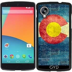 Funda para Google Nexus 5 - Estado Colorado Bandera Retro by BruceStanfieldArtist